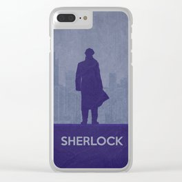 Sherlock 02 Clear iPhone Case