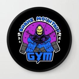 Snake Mountain gym Skeletor Wall Clock