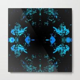 Galaxy Quest (blue) Metal Print