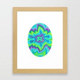 Energy Oval 3 Framed Art Print