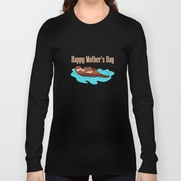 happy mothers day mom t-shirts Long Sleeve T-shirt
