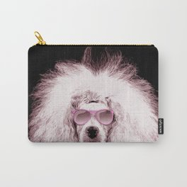 Poodle Dog Digital Art Carry-All Pouch
