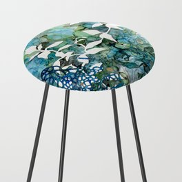 Beauty Of Chaos 1 Counter Stool