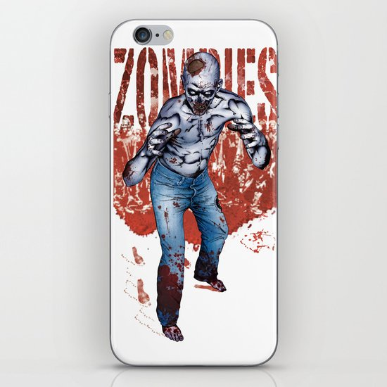 Zombie Walk iPhone & iPod Skin