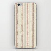 baseball iPhone & iPod Skins featuring Baseball by Denise Zavagno