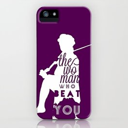 Beat You iPhone Case