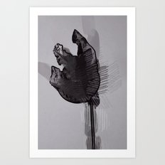 leaf eleven Art Print