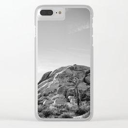 Joshua Tree National Park XV Clear iPhone Case