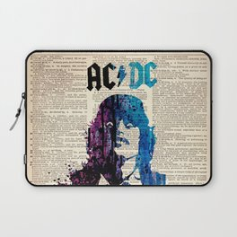 Hard rock art on dictionary #young Laptop Sleeve