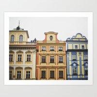 prague Art Prints featuring Prague   by Kameron Elisabeth