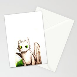 Toothless Sketch Stationery Cards