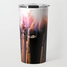 incense sticks crazy smoke Travel Mug