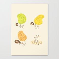 Season sneeze Canvas Print