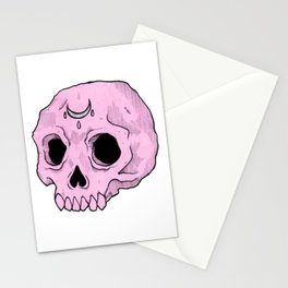 Witchy Skull Stationery Cards