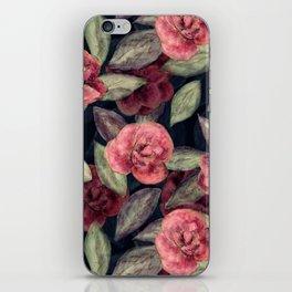 Camellias iPhone Skin