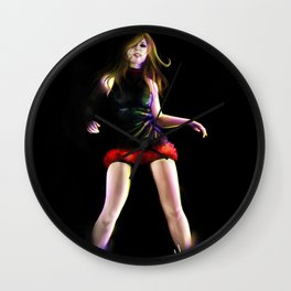 live for Dance Wall Clock