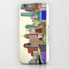 Philadelphia city sklyine iPhone 6 Slim Case
