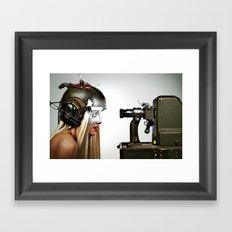 Master and Servent Framed Art Print