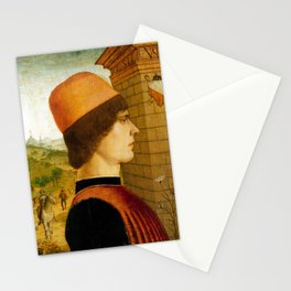 Maestro delle Storie del Pane Portrait of a Man Stationery Cards