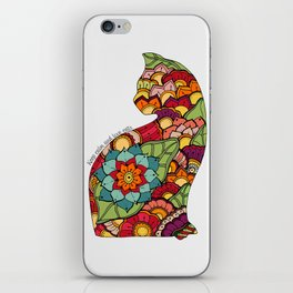 Keep calm and love cats iPhone Skin
