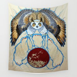 Ganawenimjige (Protector) Wall Tapestry