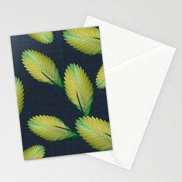 Tillandsia in dark blue Stationery Cards