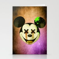 mickey Stationery Cards featuring Mickey by wrong planet