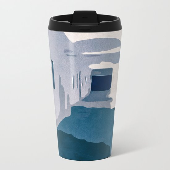 Tunisian Street Metal Travel Mug