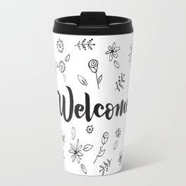 Welcome! Travel Mug