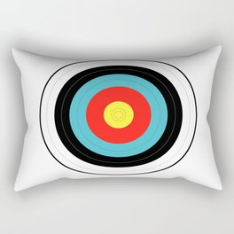 Isolated Target Rectangular Pillow