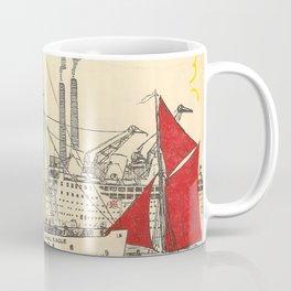 1937 Vintage Travel Poster Coffee Mug