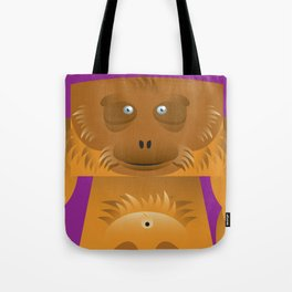 Furry Ape Tote Bag