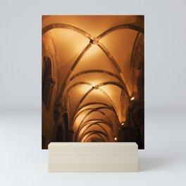 Rector Palace Vault at Night in Dubrovnik Mini Art Print