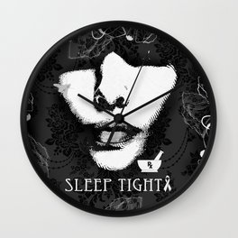 Sleep tight RX for mental health awareness.  Wall Clock