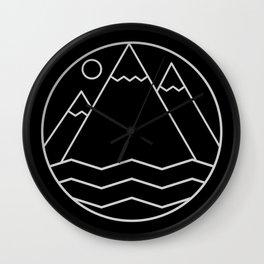 Alpine Summit Wall Clock