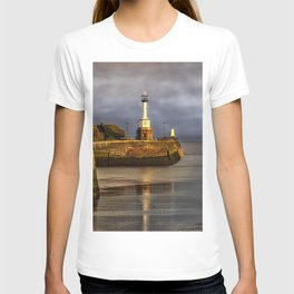 Early Morning At Maryport Harbour T-shirt
