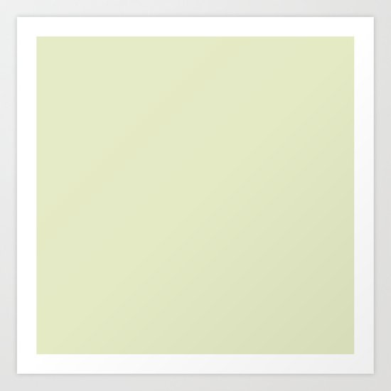 Greenish Grey Art Print