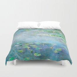 Monet Water Lilies / Nymphéas 1906 Duvet Cover