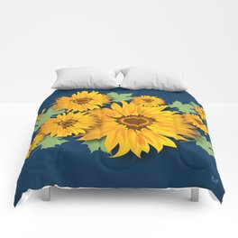 Summer Sunflower Comforters