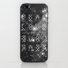 FEAR LOVE / LOVE FEAR iPhone & iPod Skin