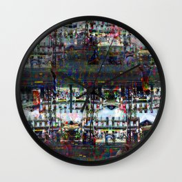 Mostly only rowable, no ignoble notions growing... Wall Clock