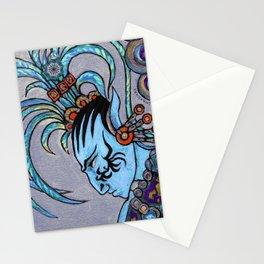 Alien Maya Elf by Alexandra Cook aka Linandara Stationery Cards