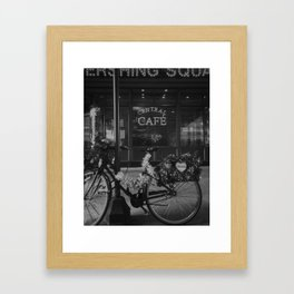Central Cafe Framed Art Print