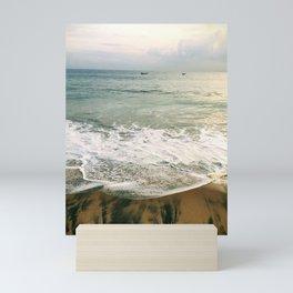 Samudra Beach, Kerala, India Mini Art Print