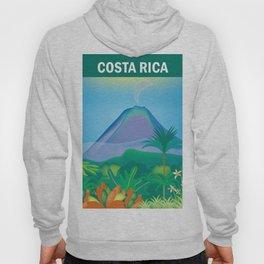 Costa Rica - Skyline Illustration by Loose Petals Hoody