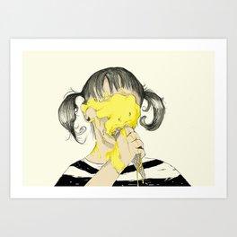 BB cream Art Print
