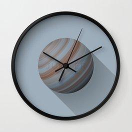 Flat Planet - #5 Jupiter Wall Clock
