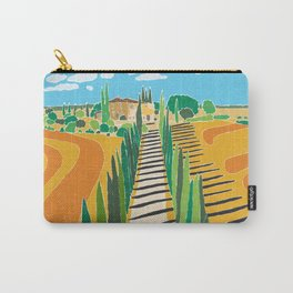 Tuscan Memories Carry-All Pouch