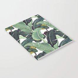 banana leaf pattern Notebook