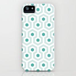 Shining in Aqua iPhone Case